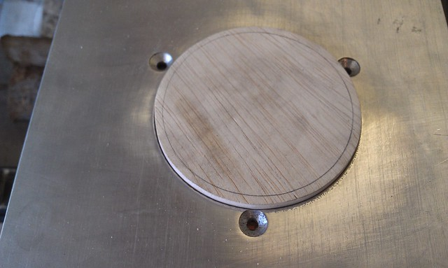 Router Plate - Outer Diameter