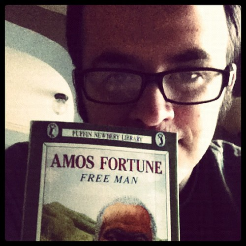 #bookaday Amos Fortune Free Man by Elizabeth Yates -1951 #nerdbery - @mrschureads