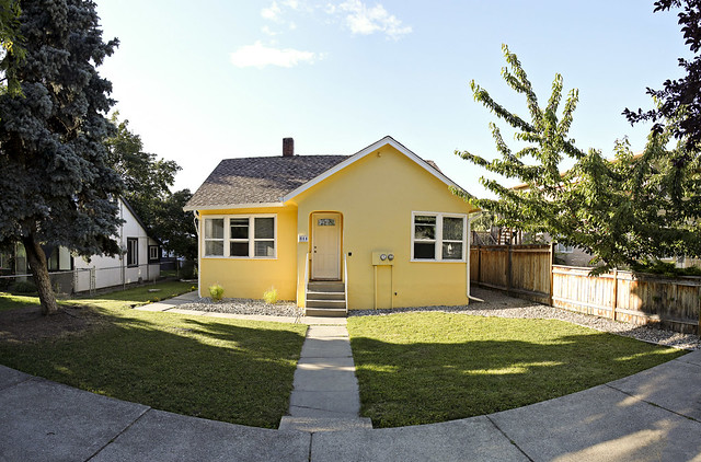 our yellow house