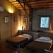 Bamboo cottage interior