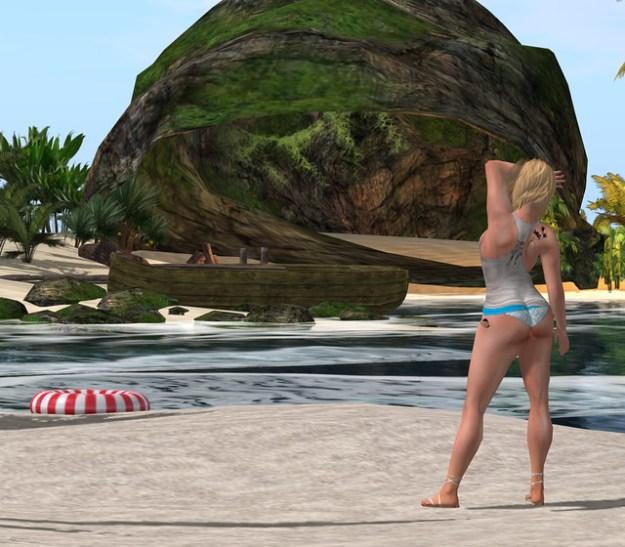 Blue Bikini Bottom