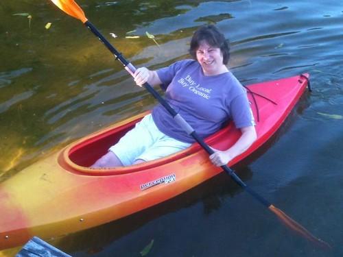 Laurie-kayak
