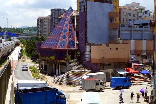 Abandoned KTV and Nightclub Longgang Shenzhen China