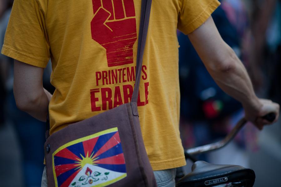 Manif de casseroles en solidarité avec les Algonquins qui défendent leurs terres! [photos Thien V]