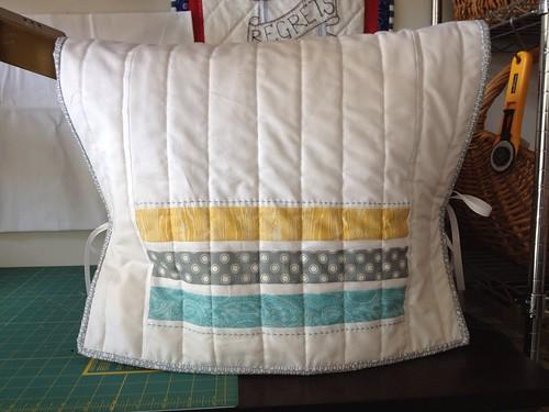 Modern Sewing Machine Cover Back