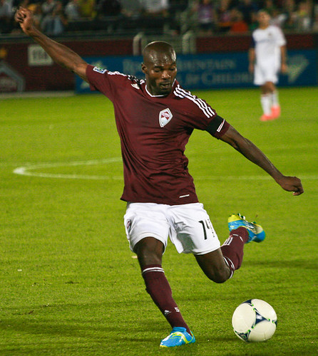 Omar Cummings, Rapids vs Real Salt Lake by Corbin Elliott Photography