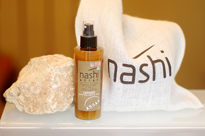 Nashi Argan Deep Infusione beauty treatment