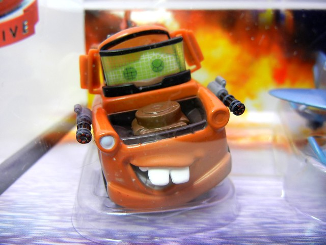 disney store UK cars 2 spy mater and finn mcmissle (2)