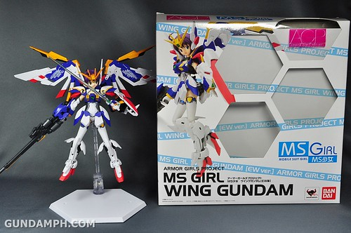 Armor Girls Project MS Girl Wing Gundam (EW Version) Review Unboxing (107)