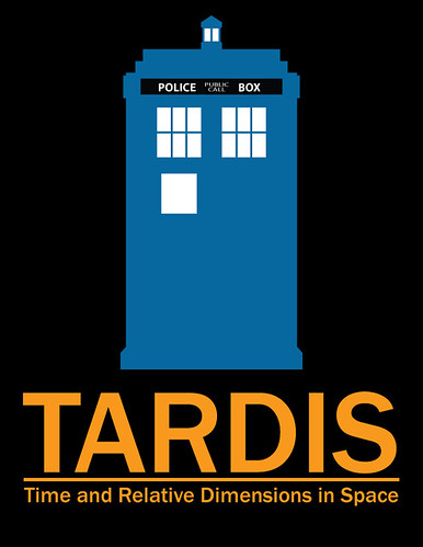 TARDIS Travel Poster (sketch)