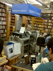 Espresso Book Machine at Powells Books, Portland
