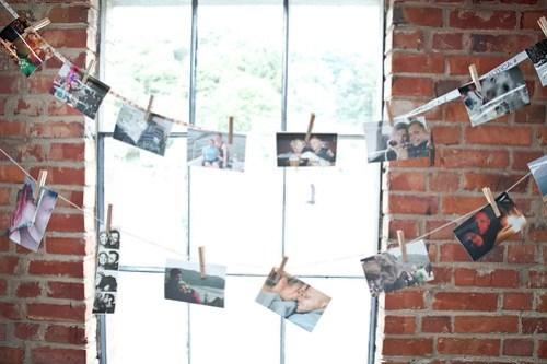 Clothespin photos of us