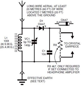 My experiences- How to build a crystal radio | BuildCircuit COM