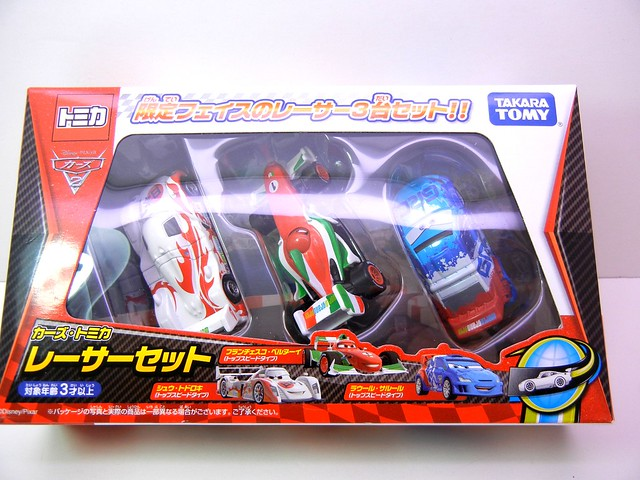disney cars 2 tomica shu raoul francesco 3 pack (1)