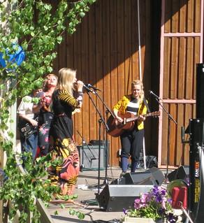 Girl band, Varberg 6th June