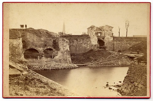 Franco-Prussian War 1870/71, Ruins Of The Strasbourg´s Fortification