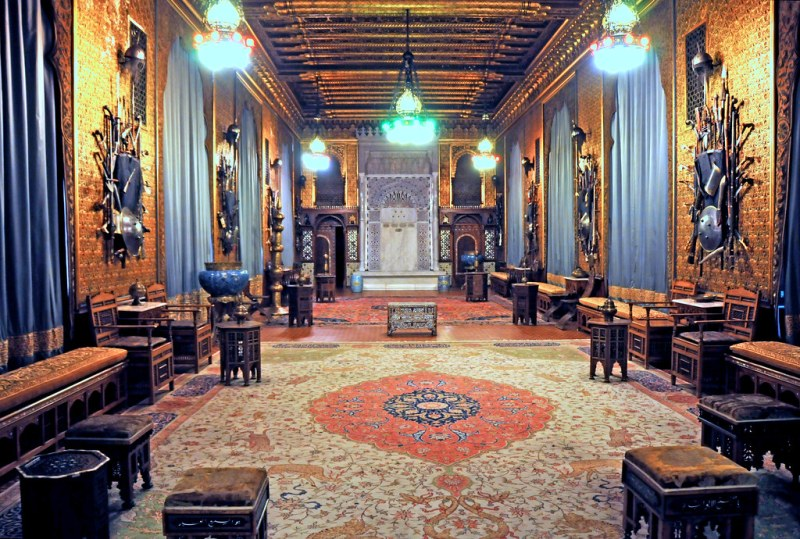 Romania-1621 - Turkish Room