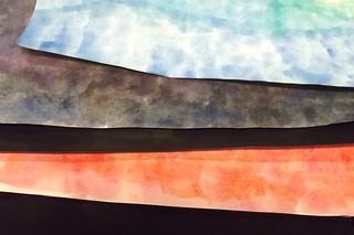 Work in progress: Watercolor backgrounds