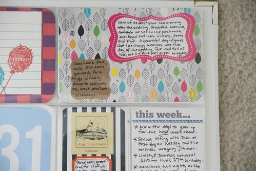 Project Life: Week Eight