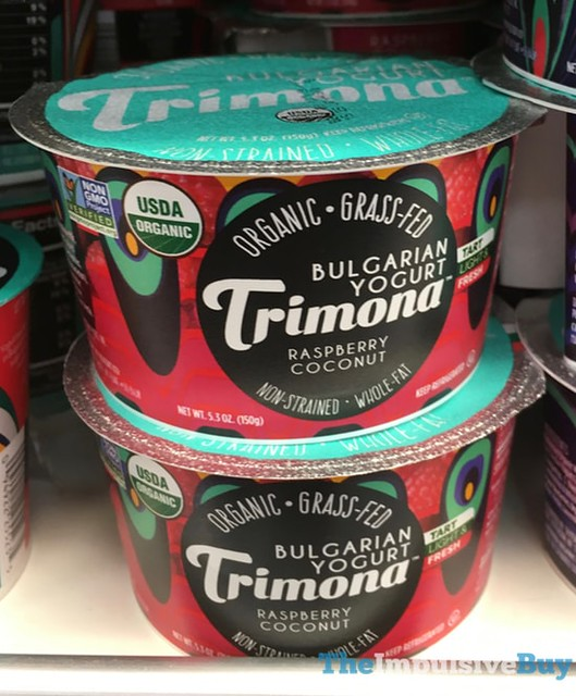 Trimona Raspberry Coconut Bulgarian Yogurt
