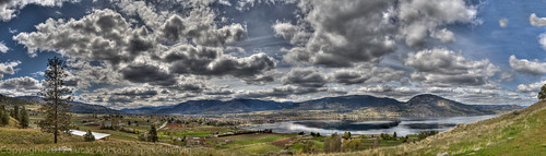 Penticton Panorama - Munson Mountain Springtime by passion4vin