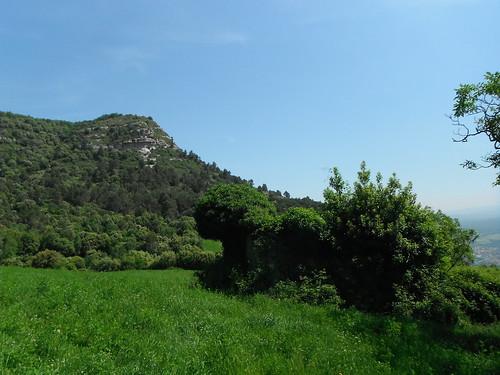 Riucerdà amb el Puigsagordi al fons