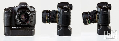 Canon 35mm Tilt/Shift S.S.C. Fd Mount Lens (converted to EOS)