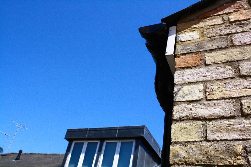 Blue sky bricks