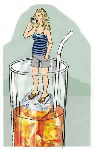 illo friday - refreshing by m23jeske