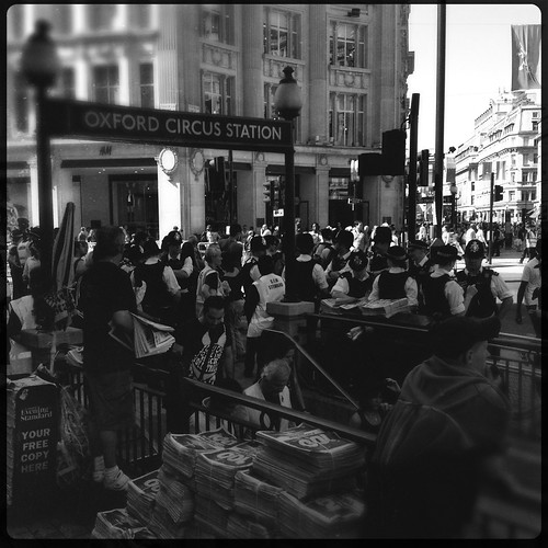 Oxford Circus Station by Darrin Nightingale