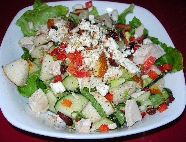 Chicken & Pear Salad