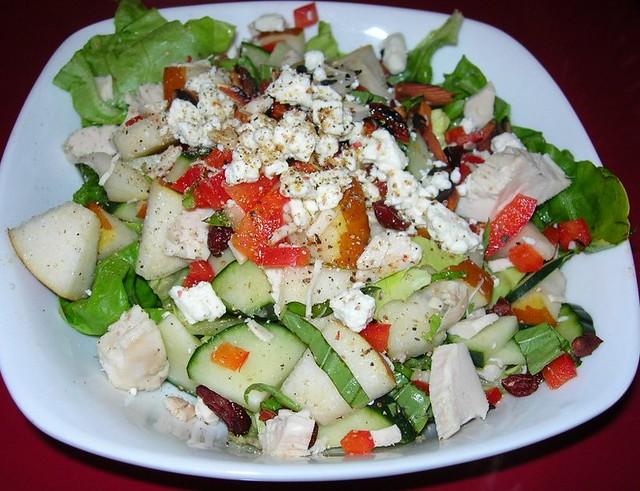 Chicken & Pear Salad
