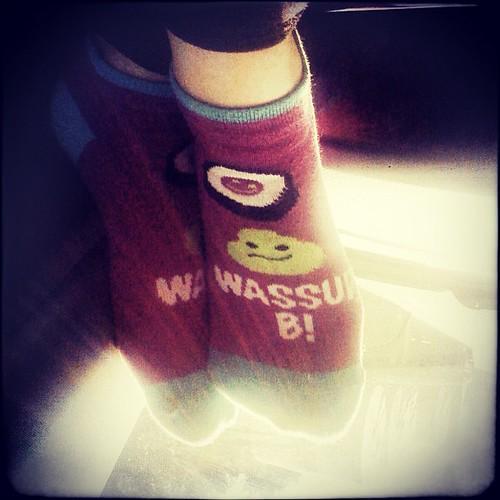 272: wasabi socks.