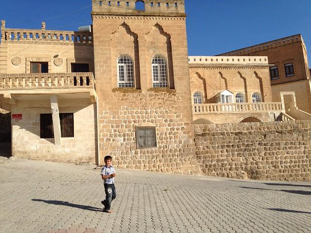 Kid in Midyat's Old Town