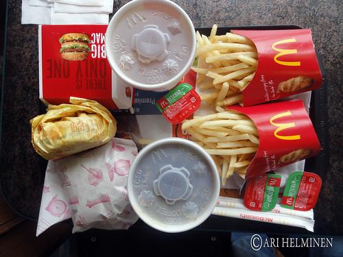 Mcdonnalds food in Japan