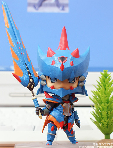 Nendoroid Hunter: Male Swordsman - Lagia X Edition
