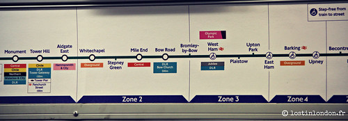 london tube 2012