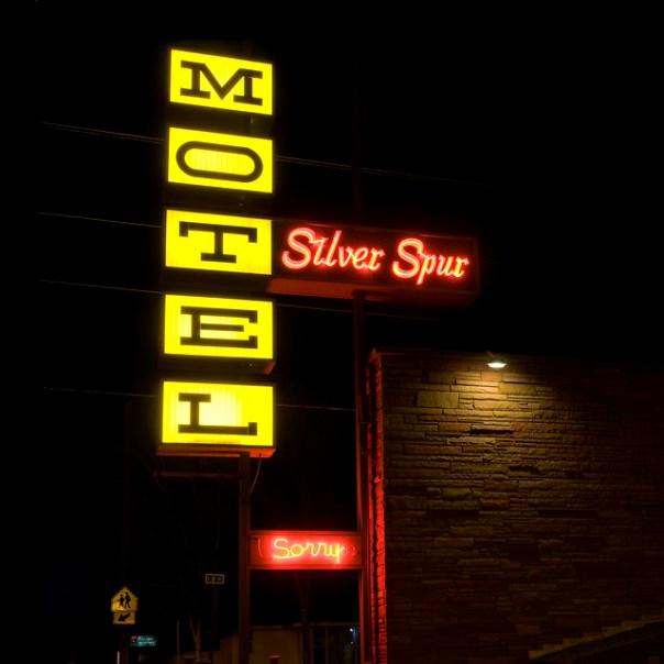 Silver Spur Motel - 789 North Broadway Avenue, Burns, Oregon U.S.A. - May 29, 2010