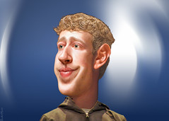 Mark Zuckerberg - Caricature