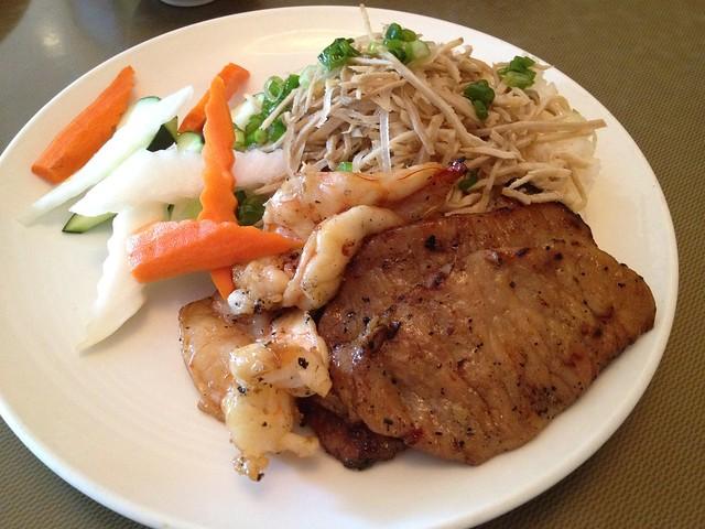 Tam bi tom thit - Vung Tau Restaurant