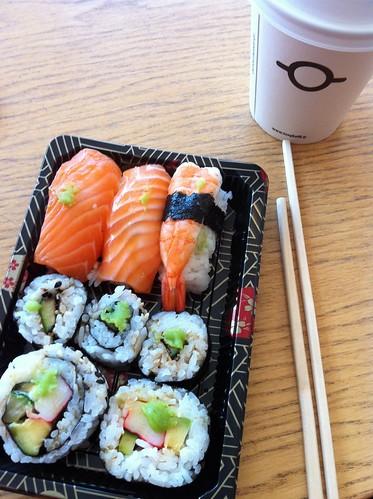 sushi & coffee