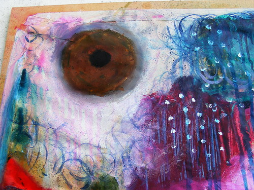 Senses Painting close up