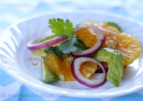 Orange Avocado Salad 2