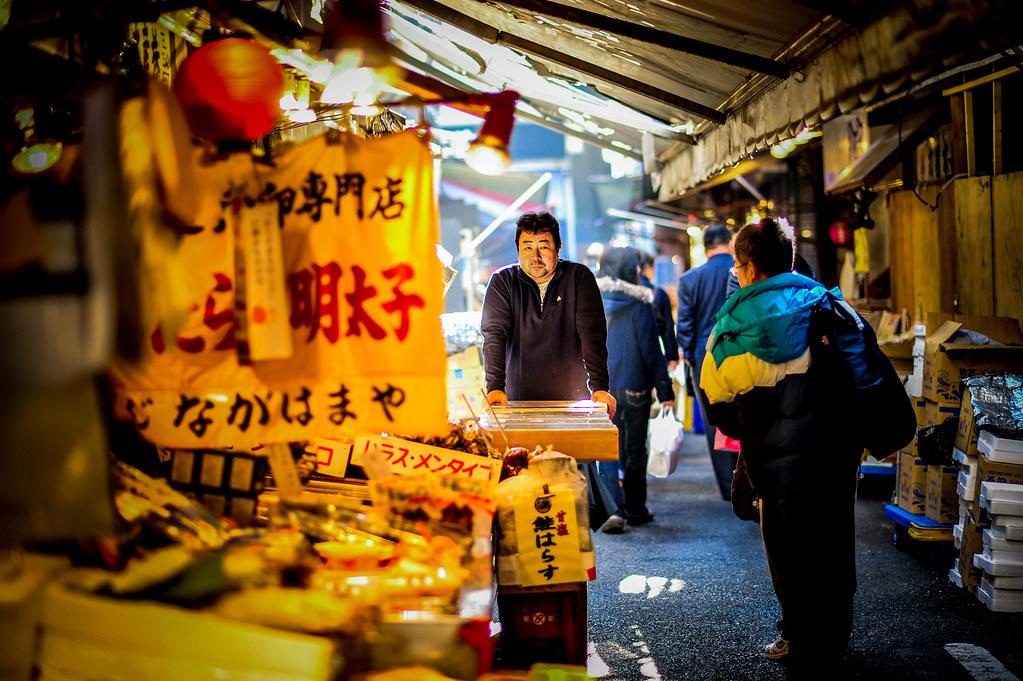 """Tsukiji Dude gives me the """"look"""""""