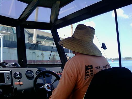 Paul pilot boat