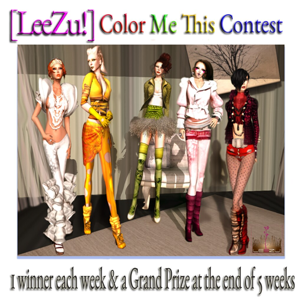 [LeeZu!] Color Me This  Contest