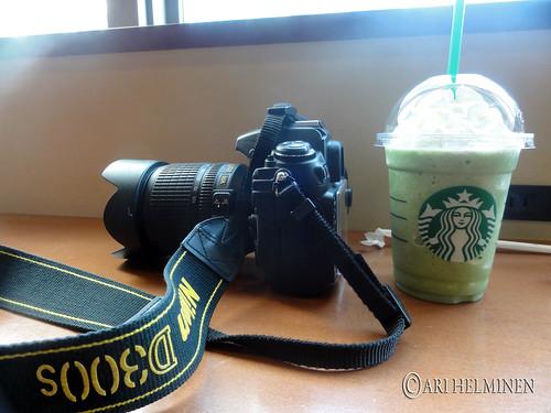 Starbucks Akiba, Macha frappuchino