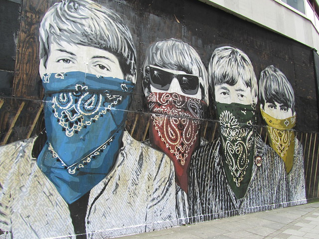 Street art by Mr Brainwash