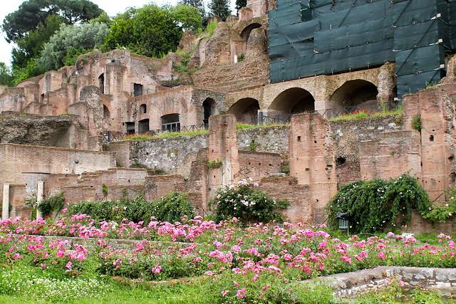 House of the vestal virgin