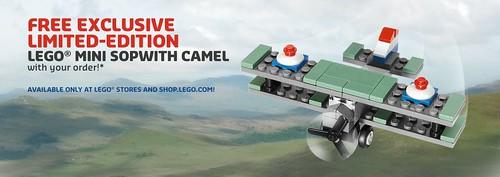 40049 Mini Sopwith Camel - promocja